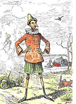 Dessin de Enrico Mazzanti, 1883, éditions Paggi