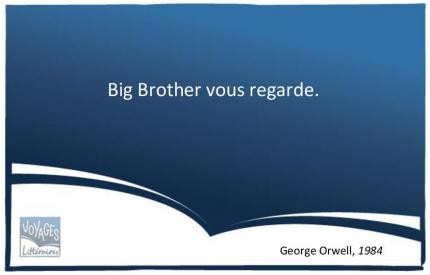 Citation 1984 Orwell - BigBrother