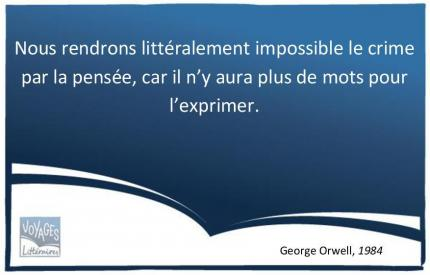 Citation 1984 Orwell - Le langage