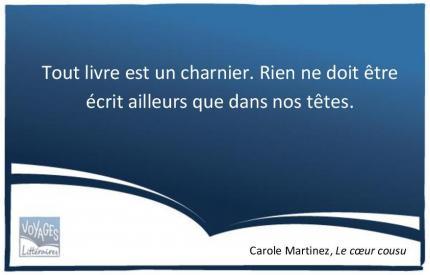 Le coeur cousu - Carole Martinez
