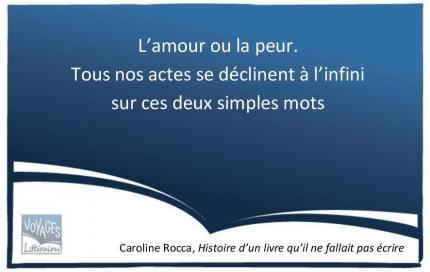 Citation Caroline Rocca