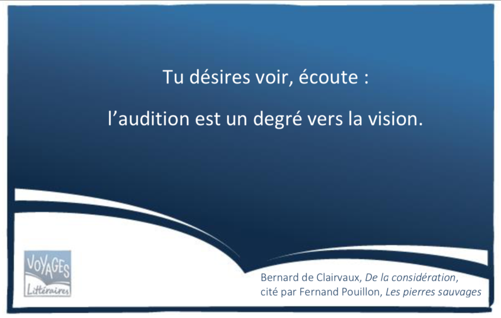 Citation de Bernard de Clairvaux